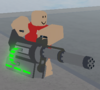 Arctic-base minigun