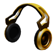 Cold Gold Headphones