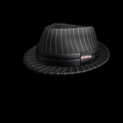 7062d0912 ROBLOX Black Pinstripe Fedora   Roblox Wikia   FANDOM powered by Wikia