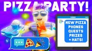 Texting Simulator Pizza Party
