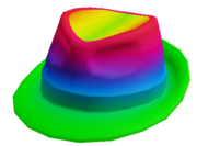 Rainbow Fedora Original
