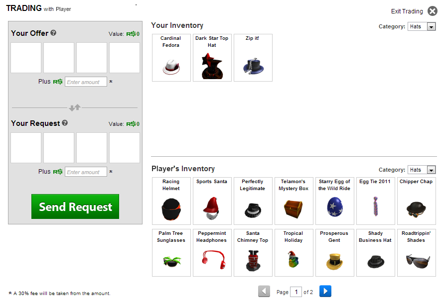 How to trade items? | Roblox Wikia | FANDOM powered by Wikia