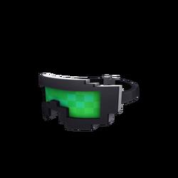 Green 8-Bit Snowboard Goggles