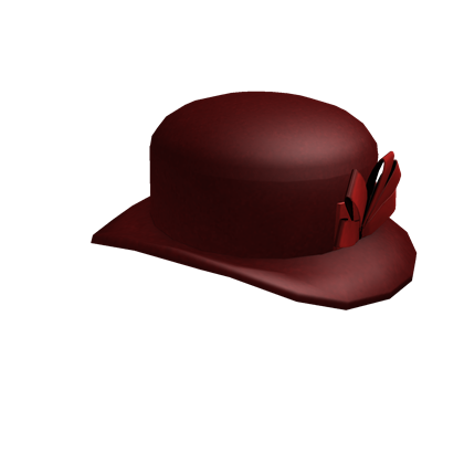 File:Maroon Bow Chapeau.png