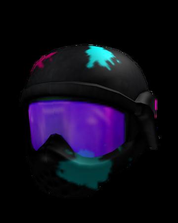 Neon Paintball Mask Roblox Wikia Fandom