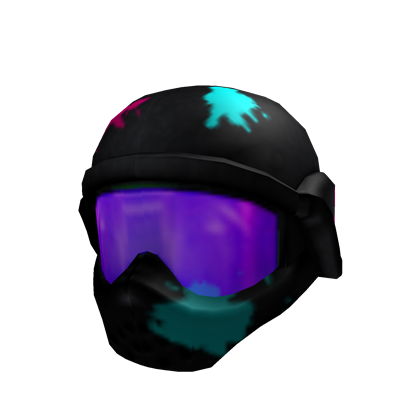 Neon Paintball Mask Roblox Wikia Fandom