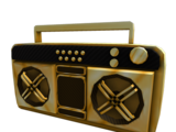 Golden Super Fly Boombox