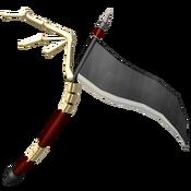 Dark Skeleton Scythe