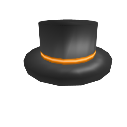 2825b5bf81c Orange Banded Top Hat