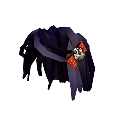 Ghost Woman Roblox Spooky Hair With Ghost Clips Roblox Wikia Fandom