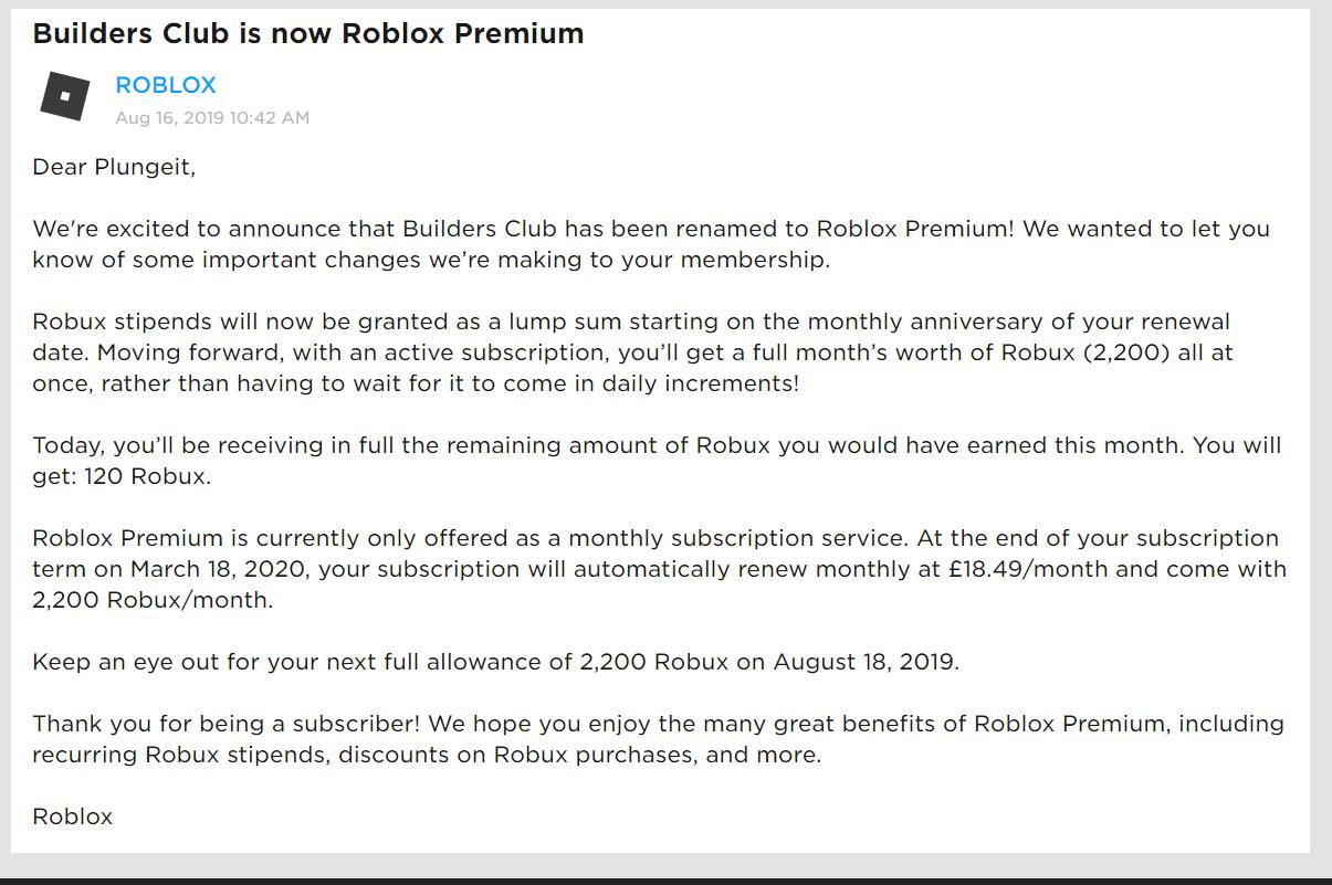 Roblox Premium Roblox Wikia Fandom