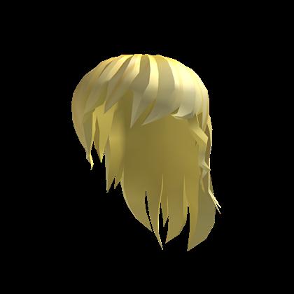 Golden Anime Girl Hair Roblox Wikia Fandom