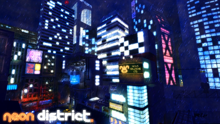 Neon District | Roblox Wikia | Fandom
