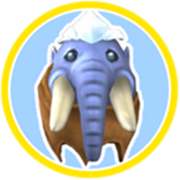 Eggcient woolly mammoth