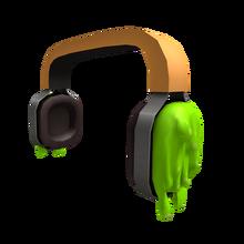 Nickelodeon Slimed Headphones