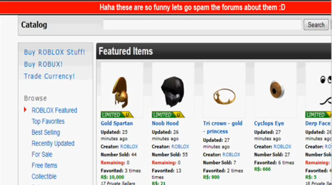 Roblox Creator Hacks 2012 April Fools Incident Roblox Wikia Fandom