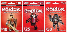 2013-15 Roblox Gamecards