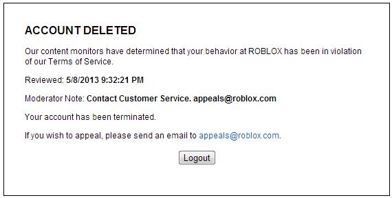 What Are The Craziest Bans You Guys Have Ever Received Roblox