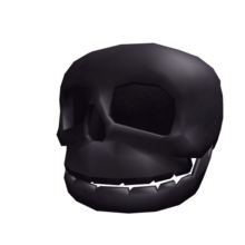 Noir Riddling Skull