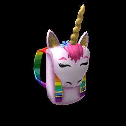 Unicorn Backpack Roblox Wikia Fandom
