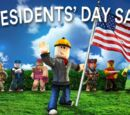 Roblox President's Day Sale 2018