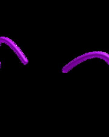 Purple Neon Cat Ears Roblox Wikia Fandom