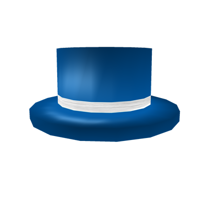 181693be58c Blue Top Hat with White Band