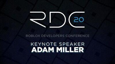 VP of Engineering Keynote Adam Miller RDC 2020