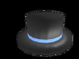 Blue Banded Top Hat
