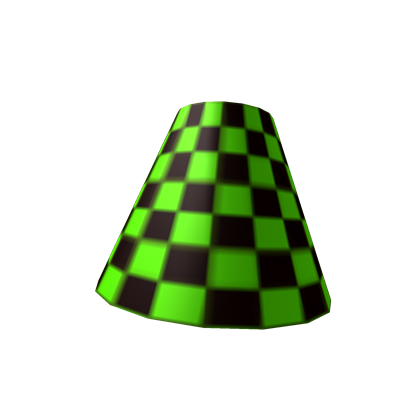 Green Checkered Lamp Shade