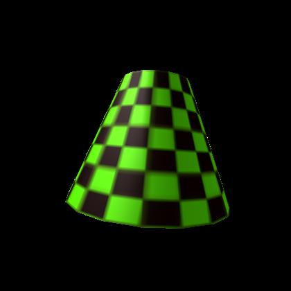 Green Checkered Lamp Shade