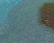 Terrain water transparency