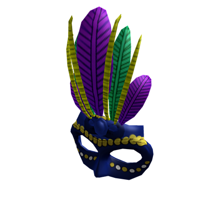 File:Blue Mardi Gras Mask.png