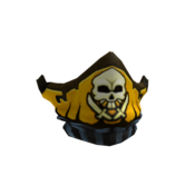 Captain rampage gold hat