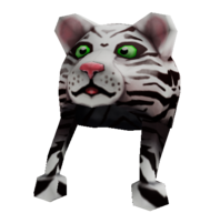 White Tiger Hat Unused