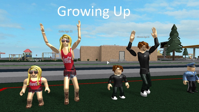 Growing Up Roblox Wikia Fandom