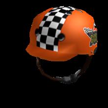 Radical Orange Helmet