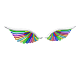 Categorywings Roblox Wikia Fandom Powered By Wikia - how to get the rainbow wings in roblox