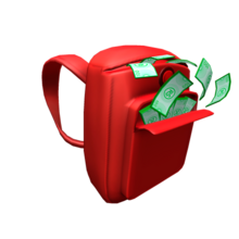 Red Robux Backpack