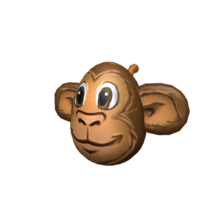 Monkeying Around Egg