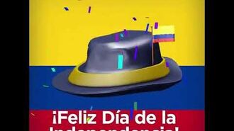 Colombia Independence Day Hat