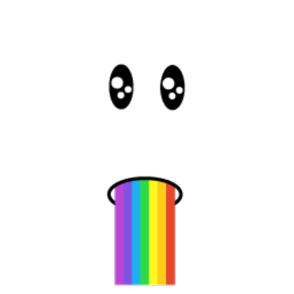 Rainbow Barf Face Roblox Wikia Fandom