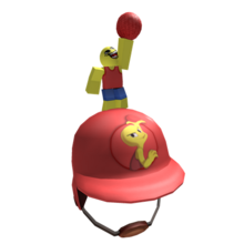 Red Dodgeball Helmet