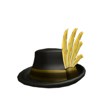 Golden Feather Fedora