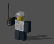 Wielding sword