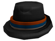 Straw Fedora Orange