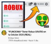 Spainish 2020 Robux Scam