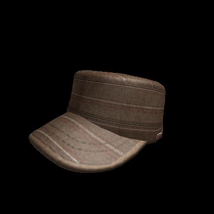 File:Brown Striped Cap.png