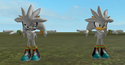 Sonic Runners Silver Brothers