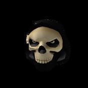 Dark Skeleton Head